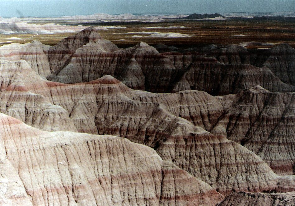 South Dakota Badlands 1969