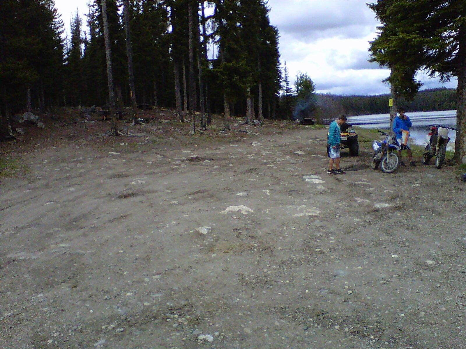 James lake free camping near kelowna bc for Lake james fishing