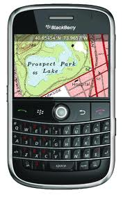 BlackBerry Internal GPS tip for outdoors BB users