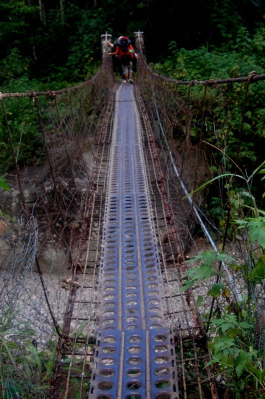 suspension bridge in Philippines