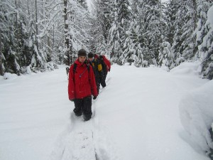 Halfway Hotsprings Winter Hike