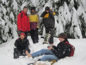 Winter Camping and Hiking
