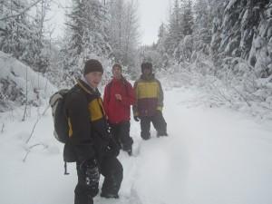 Winter Hike near Nakusp