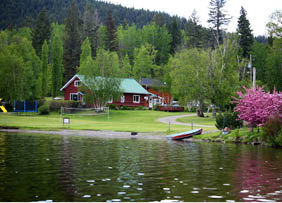 Cabin at McLeese Lake Resort