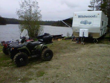 Free Camping at Nicklen Lake near Vernon BC