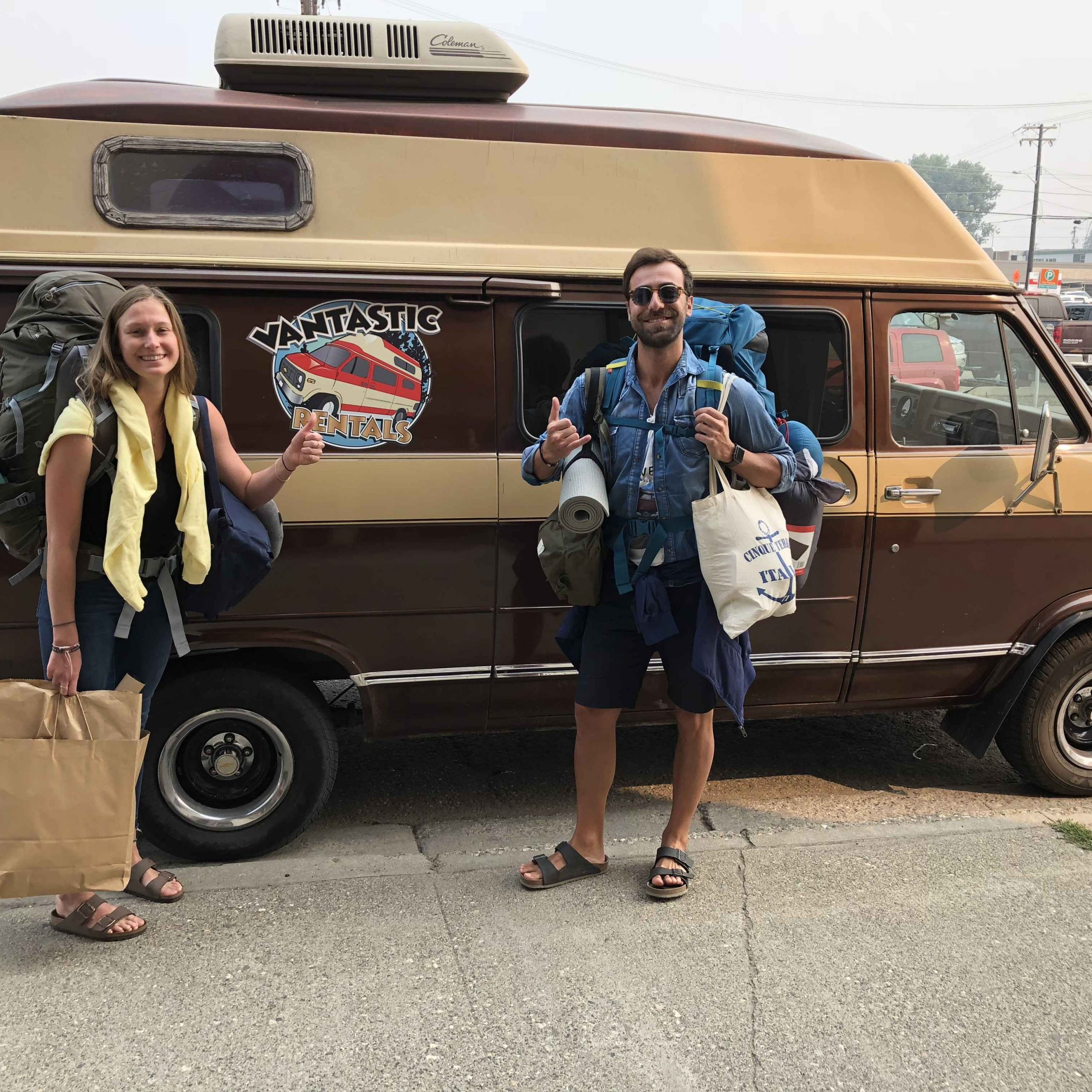A couple of German adventures set out to tour in Canada with a camper van from Vernon BC.