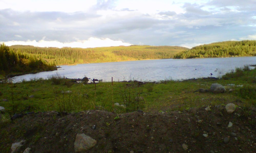 Big Horn Reservoir and Crown Land Camping near Kelowna