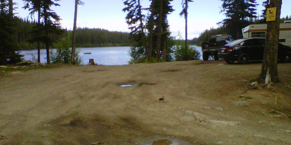 Kelowna Free Camping at Doreen Lake
