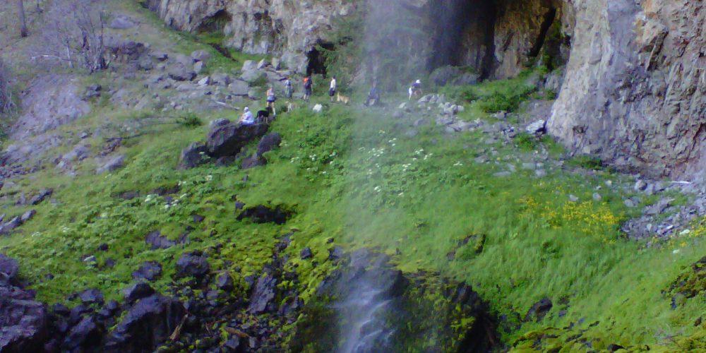 Christie Falls between Kelowna and Vernon – A Spectacular Okanagan Gift