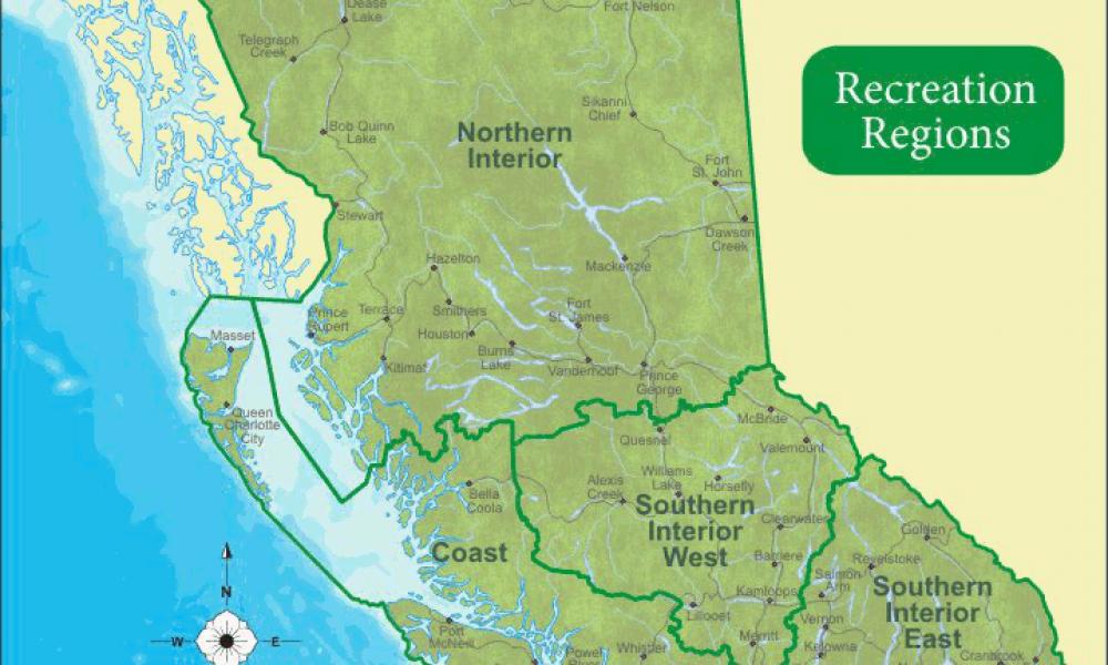 Recreation Sites of British Columbia