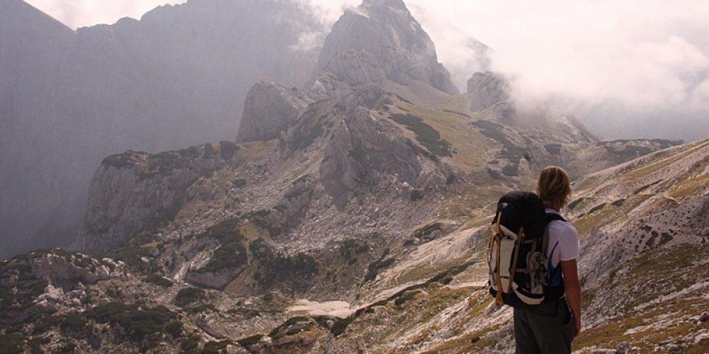 Julian Alps Hike up Mount Bogatin in Slovenia