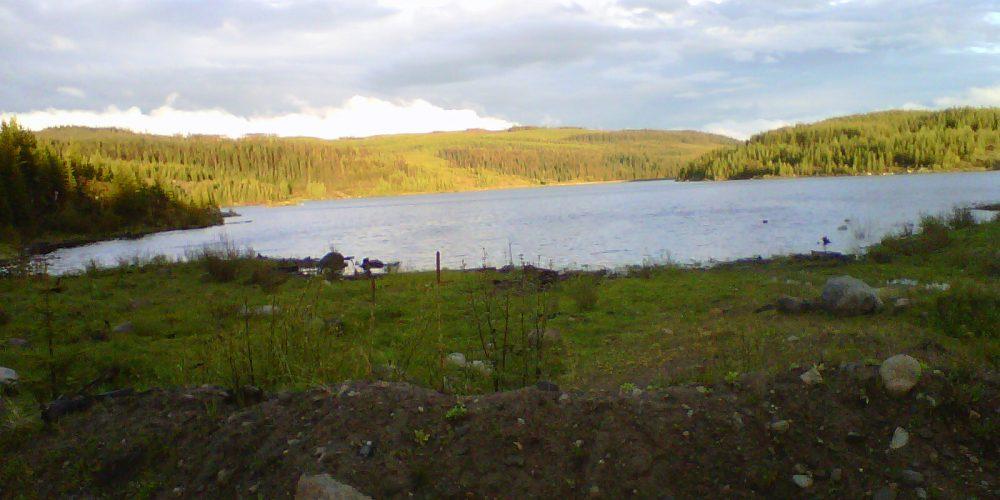 Big Horn Reservoir and Crown Land Camping near Kelowna