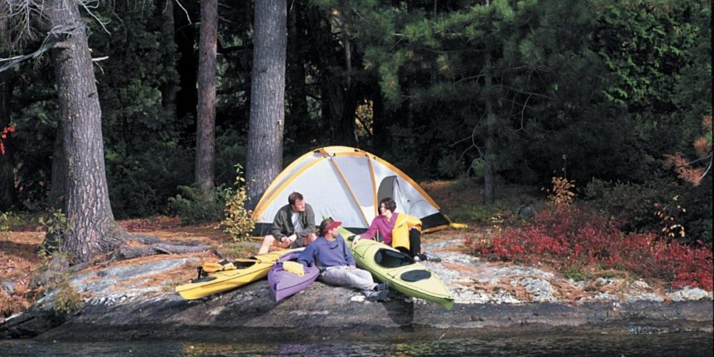 Camping Etiquette in BC Mountain Lakes
